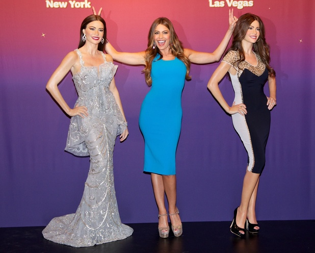 June 4 - Sofia Vergara unveils two Madame Tussauds wax figures in Times Square
