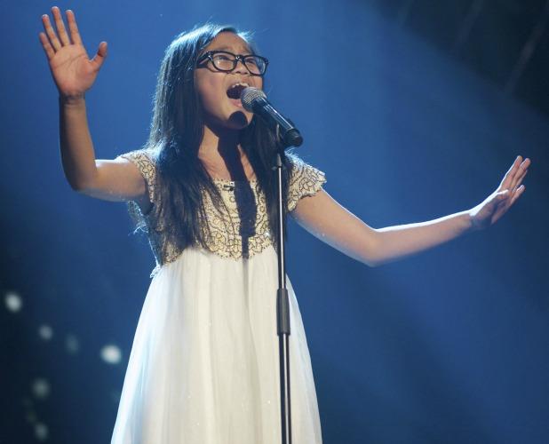Arisxandra, 'Britain's Got Talent' Final TV Programme, London, Britain. - 08 Jun 2013