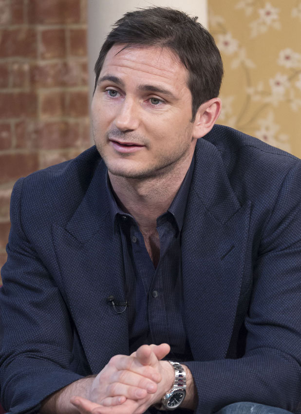 Frank Lampard on This Morning, 6 June 2013 (interview taped in April)