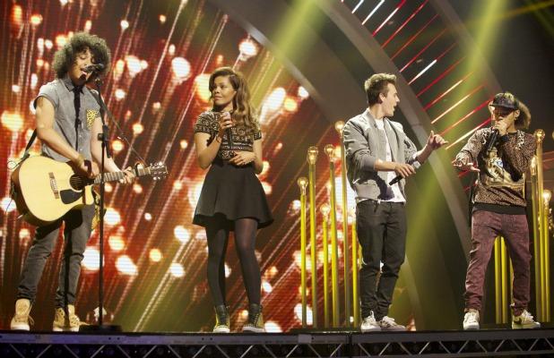Luminites. 'Britain's Got Talent' Final TV Programme, London, Britain. - 08 Jun 2013