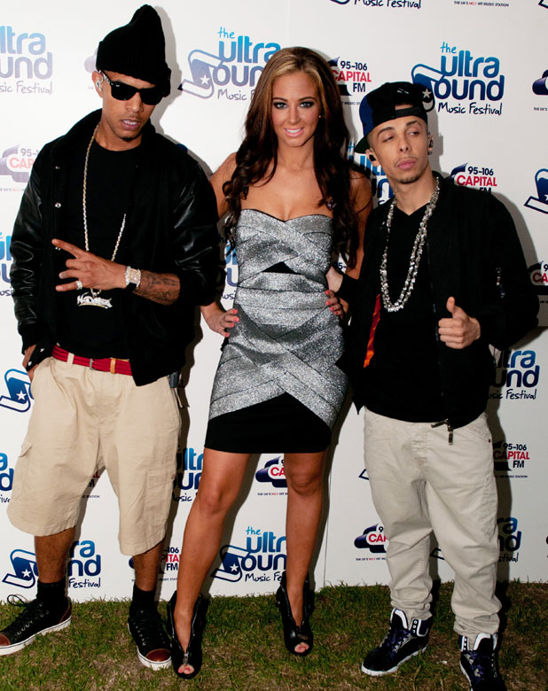 N-Dubz at The Ultrasound Music Festival, Tamworth, England - 03.09.11