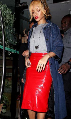 Rihanna leaves San Carlo Restaurant - 11 June 2013