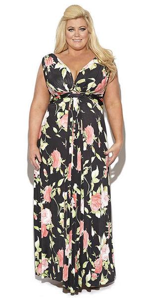 Gemma Collins dresses reveal mag