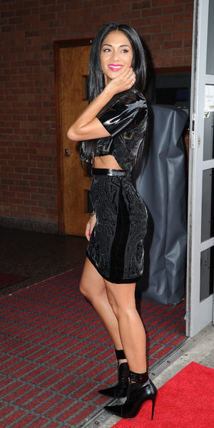 The X Factor judge Nicole Scherzinger at Old Trafford for the Manchester auditions, June 15 2013