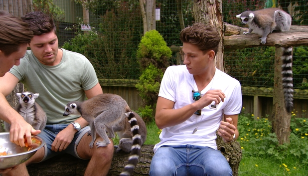 Joey Essex at the zoo - TOWIE episode 12 June