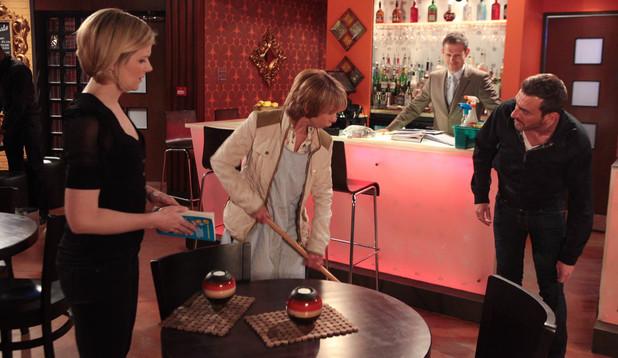 Corrie, Gail is suspicious of Peter, Wed 26 Jun