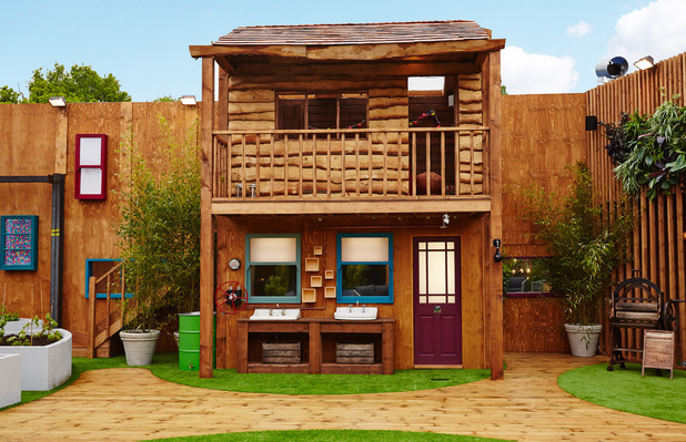 Big Brother house - tree house - 2013
