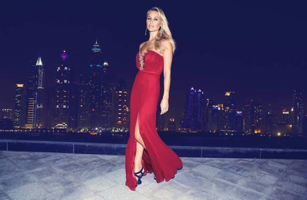 Alex Gerrard models new Lipsy VIP Collection