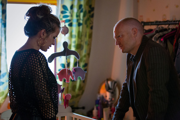 EastEnders, Max finds out about the baby, Thu 27 Jun