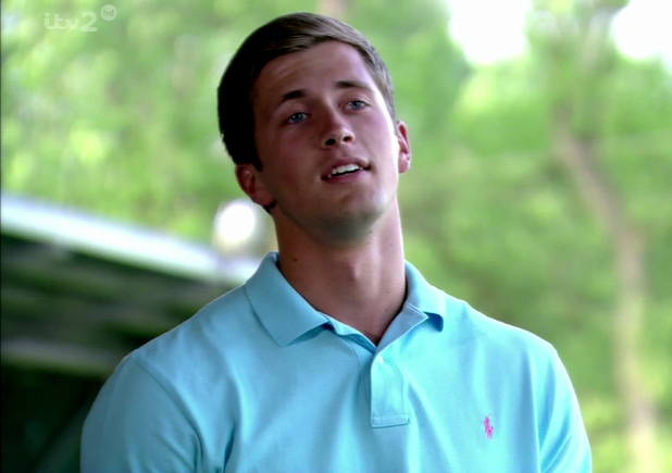 The Only Way Is Essex. Shown on ITV2 HD Daniel Osborne is seen at the golf course - 13 June 2013
