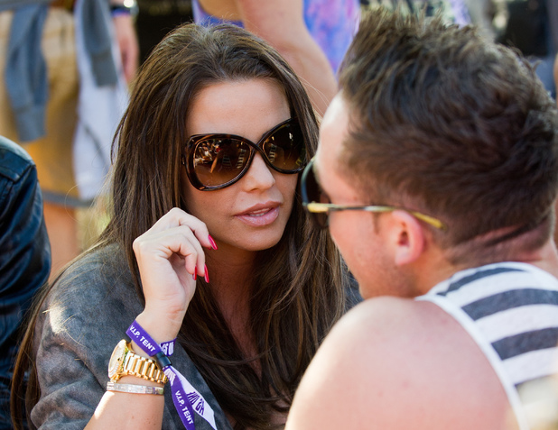 Katie Price and Kieran Hayler - As One In The Park 2013 - 26 may 2013