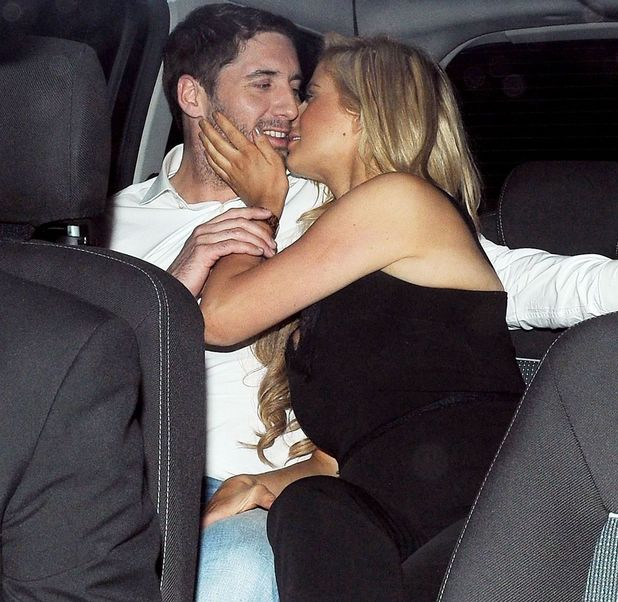 Chantelle Houghton and Nick Hogg at Scotts restaurant, London, Britain - 10 Jun 2013