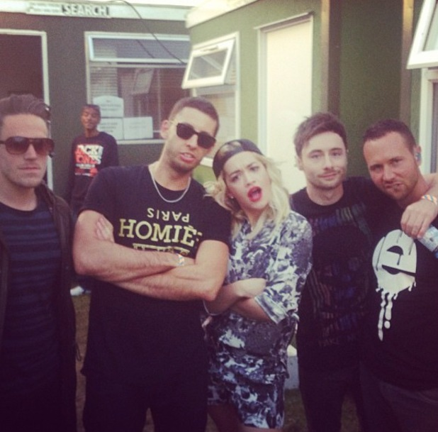 Rita Ora and Example at Parklife Weekender - June 9 2013