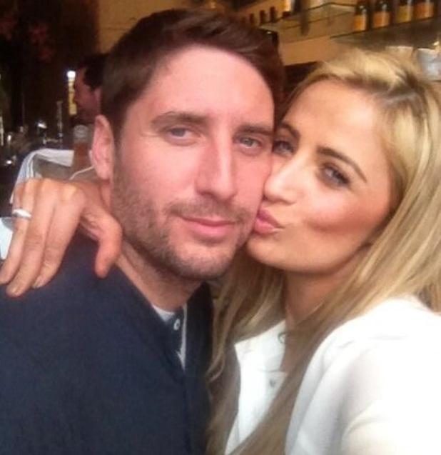 Chantelle Houghton kisses boyfriend Nick Hogg - 10 June 2013