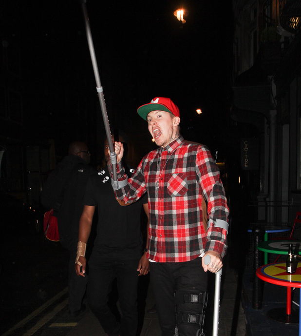 Professor Green at the Groucho club - 13 June 2013