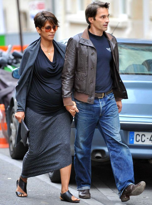 Halle Berry and Olivier Martinez out and about, Paris, France - 11 Jun 2013