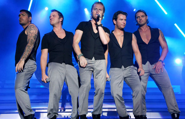 Boyzone Keith Duffy, Mikey Graham, Ronan Keating, Shane Lynch, Stephen Gately The Bryn Terfel Faenol Festival - Day 1 Bangor, Wales - 23.08.08