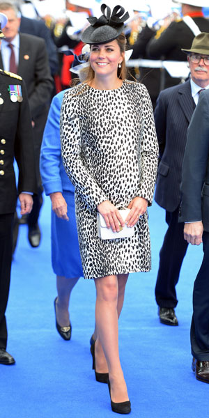 Kate Middleton attends naming ceremony of new Royal Princess cruise liner, Southampton, 13 June 2013