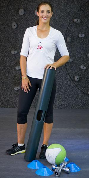 Laura Robson is Virgin Active Tennis Ambassdor