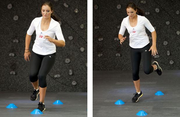 Laura Robson's Virgin Active Tennis Workout