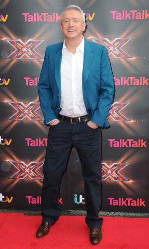 Louis Walsh: X Factor judges arrive at Old Trafford for the Manchester auditions, 13 June 2013