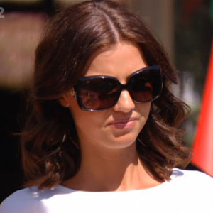 TOWIE: Lucy Mecklenburgh in episode 9 June, 2013
