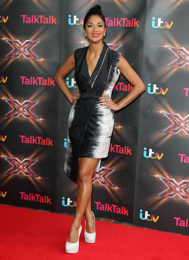 Nicole Scherzinger, the X Factor auditions, LG Arena, Birmingham, 10 Jun 2013