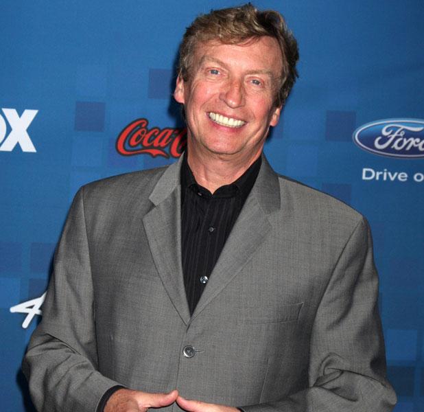 Nigel Lythgoe, the American Idol Season 10 Top 13 Finalists Party held at the Grove rooftop. Los Angeles, California - 03.03.11