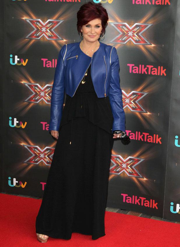 Sharon Osbourne the X Factor auditions, LG Arena, Birmingham, 10 Jun 2013