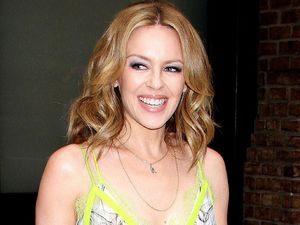 Kylie Minogue sports summery outfit for trip to NYC: pictures