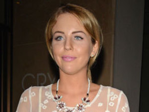 Lydia Bright nails summer chic in ethereal white dress