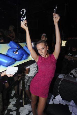 Kendra Wilkinson celebrates her 28th birthday at Mokai, Miami, Florida, America - 13 Jun 2013