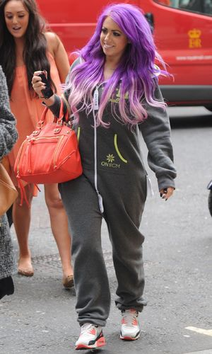 Celebrities at BBC Radio 1 Studios, London, Britain - 18 Jun 2013 Holly Hagan 18 Jun 2013