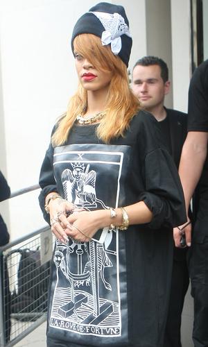 Rihanna out and about, London, Britain - 20 Jun 2013 Rihanna 20 Jun 2013