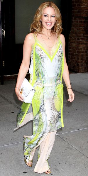 Kylie Minogue out and about, New York, America - 18 Jun 201