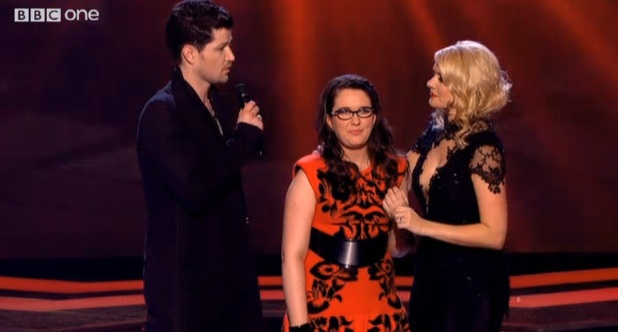 The Voice UK 2013 final on 22 June, Andrea Begley and Danny O'Donoghue