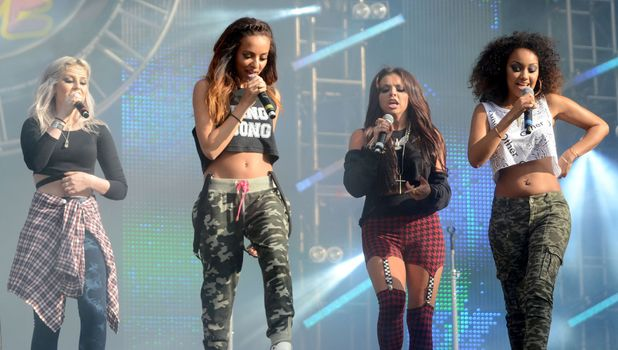 Little Mix perform at North East Live at the Stadium of Light, Sunderland, Britain - 22 Jun 2013