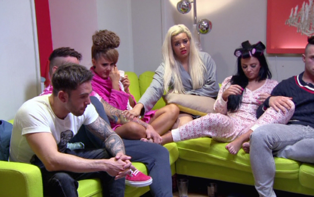 The Valleys cast screen shot from the series finale - 18 June