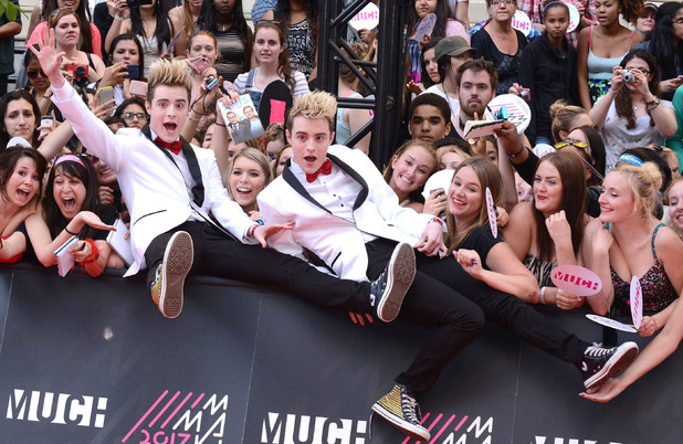 Jedward at MuchMusic Video Awards - 16 June 2013