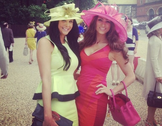 The Apprentice's Luisa Zissman goes all pink during trip to Ascot - 21 June 2013