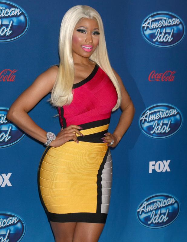 Nicki Minaj American Idol Premiere Event at Royce Hall, UCLA in Westwood