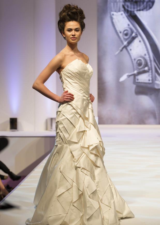 Christina Chalk from Britain & Ireland's Next Top Model series 9