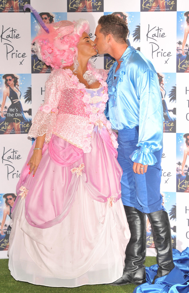 Katie Price launches her book 'He's The One' with husband Kieran Hayler at the Worx Studios, London, - 18 June 2013
