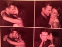 Michelle Keegan, Mark Wright Instagram kissing