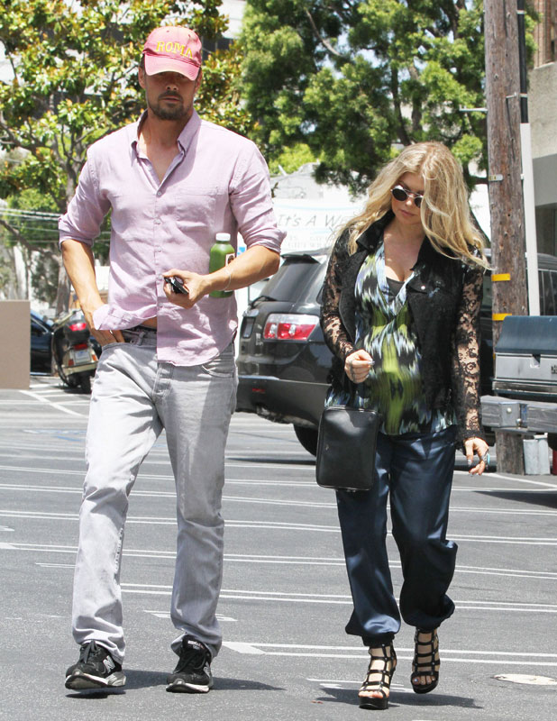 Fergie and Josh Duhamel out and about, Los Angeles, America - 19 Jun 2013