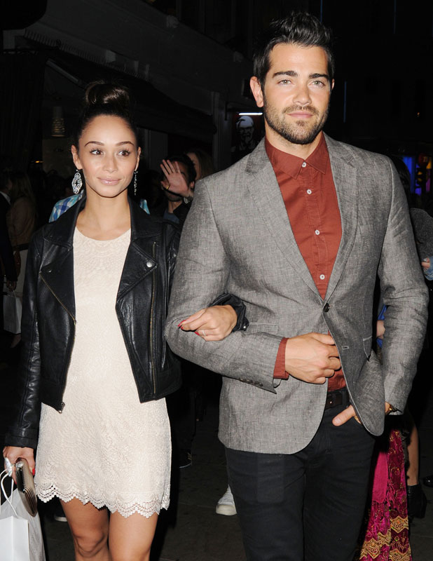 Jesse Metcalfe and fiancee at the Hoping Charity Night, 20 June 2013