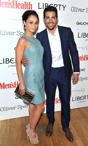 Jesse Metcalfe and Cara Santana, Men's Health, Oliver Spencer & Liberty SS14 Party held at Liberty - Arrivals, 17 June 2013