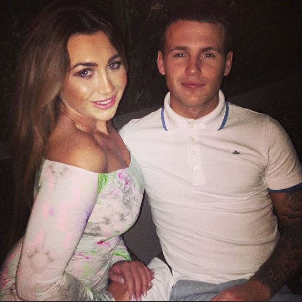 Lauren Goodger and Jake McLean enjoy holiday in the Caribbean