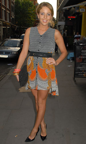 Lydia Bright at Pimms Summer Garden Launch Party at Gt Newport Street, 18 June 2013