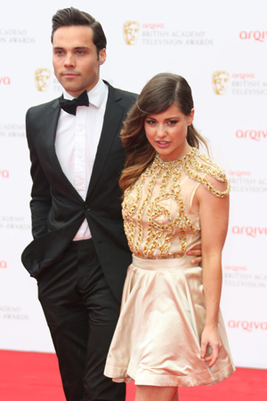 The Arqiva British Academy Television Awards (BAFTA's) 2013 held at the Royal Festival Hall - Arrivals PersonInImage:Andy Jordan,Louise Thompson Credit :Lia Toby/WENN.com